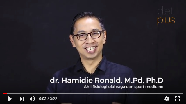dr. Hamidie Ronald, M.Pd, Ph.D - Ahli fisiologi olahraga dan sport medicine